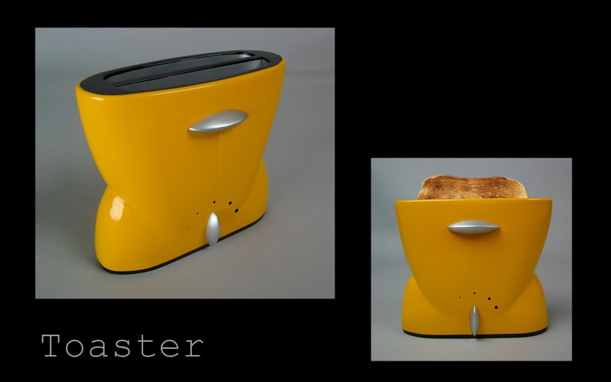 design toaster put a smile on your toast yanko design. Black Bedroom Furniture Sets. Home Design Ideas