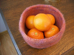Phyllis's Felted Bowl