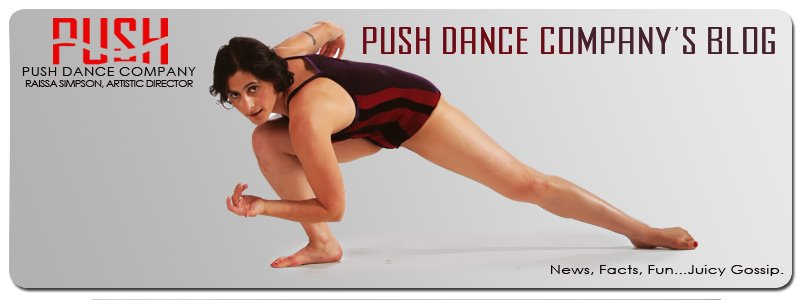 Push Dance Company Blog