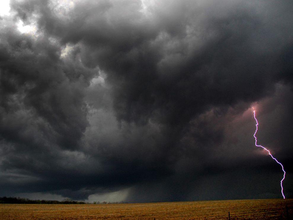 Geog 341: National Geographic Storm Clouds Lightning Tornado