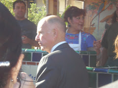 Jerry Brown waiting for a fresh tortilla
