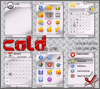 Cold by Jendell Symbian Theme
