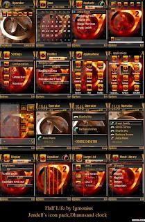 Halflife By Igmonius,s60v3 theme,mobile theme,qvga theme