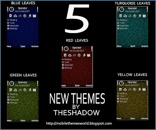 5 New Themes Preview By TheShadow