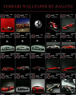 Ferrari wallpaper pack by Zagato
