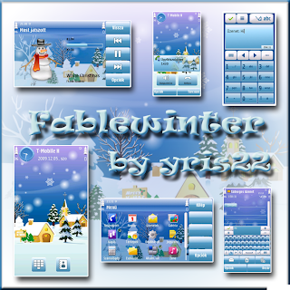 Fable winter by yris22 Nokia N97 5800 themes
