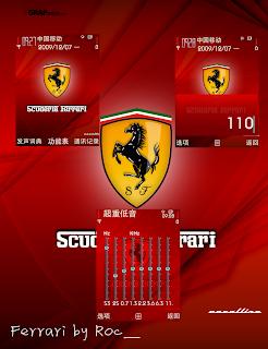 Ferrari s60v3 theme