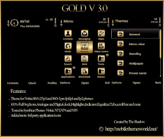 Gold v3 premium theme by TheShadow