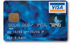 Credit Cards Menu