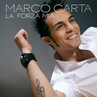 Marco Carta - La forza mia - cd cover