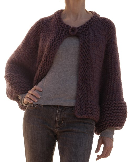 Knitting Increases For Sleeves : Knit la the bubble sleeve jacket