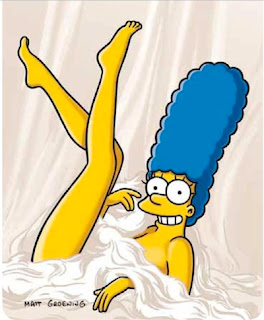 Marge Simpson Playboy In His Shorts Was Big