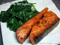 salmon-teriyaki-with-spinach