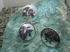 anillos en plata