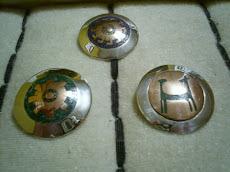 colgantes plata cobre