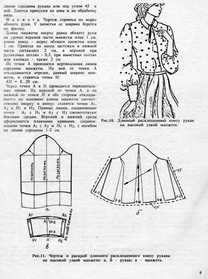 Самостоятельная кройка и шитье