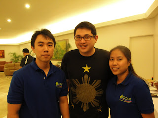 Kevin Carreon, Marge Caparas, ACCAP and Liberty Party of the Philippines