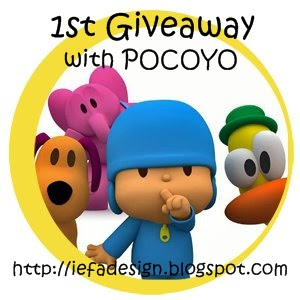 iefadesign 1st Giveaway 2010 with POCOYO