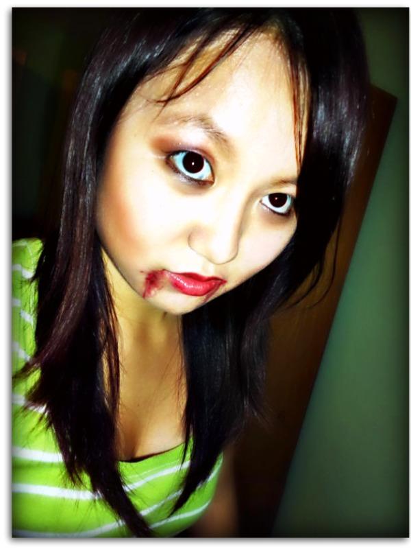 scary vampire makeup. makeup VAMPIRE MAKEUP TUTORIAL