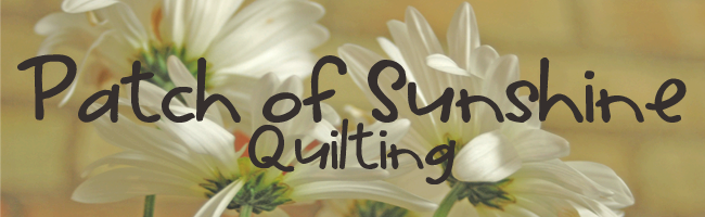 Patch of Sunshine Quilts