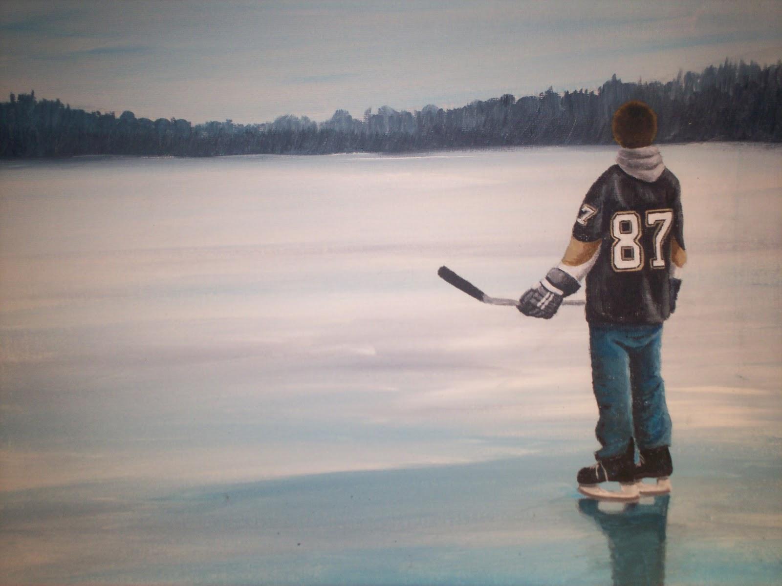 pond hockey wallpaper pond hockey wall mural decor place wall murals