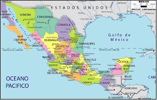 Etnias De Mexico Mapa De La Republica Mexicana