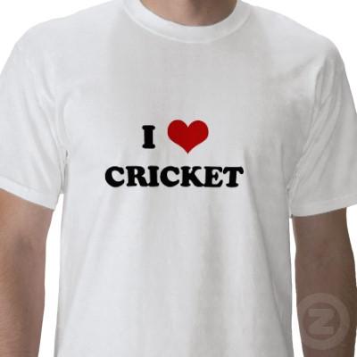 Cricket Passion Cricket T Shirts