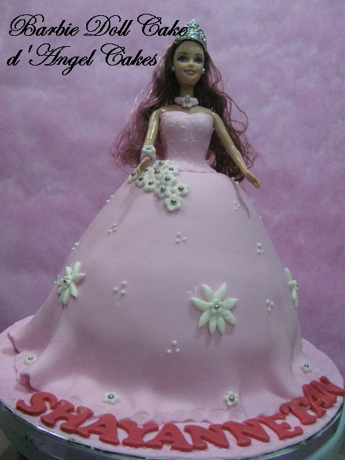 barbie doll cake. Barbie Doll Cake for Shayanne
