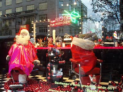 Selfridges-Santa