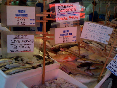 Steve+Hatt+Fishmonger+fresh+fish+Islington+Essex+Road