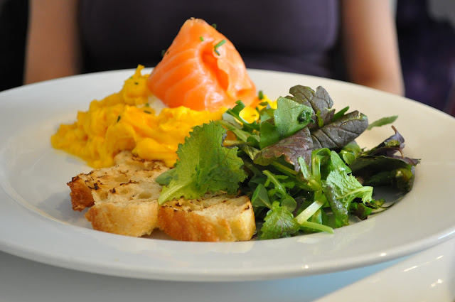 Ottolenghi+Islington+review+Upper+Street+salmon+scrambled+eggs