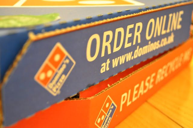 London+Dominos+online+pizza+delivery+review