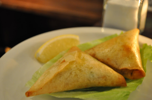 Delhi+Grill+review+Islington+Chapel+Market+Indian+restaurant+vegetable+samosa