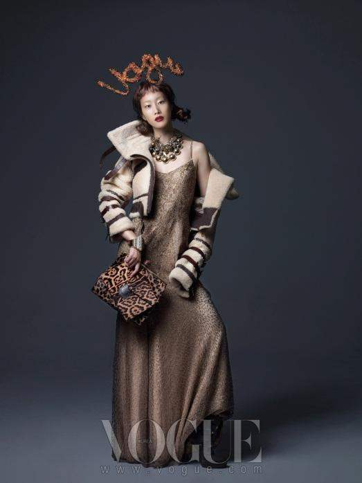 Lost in fashion seoul vogue korea december issue - Lost in vogue ...