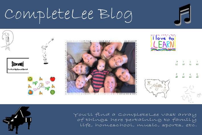 CompleteLee Blog