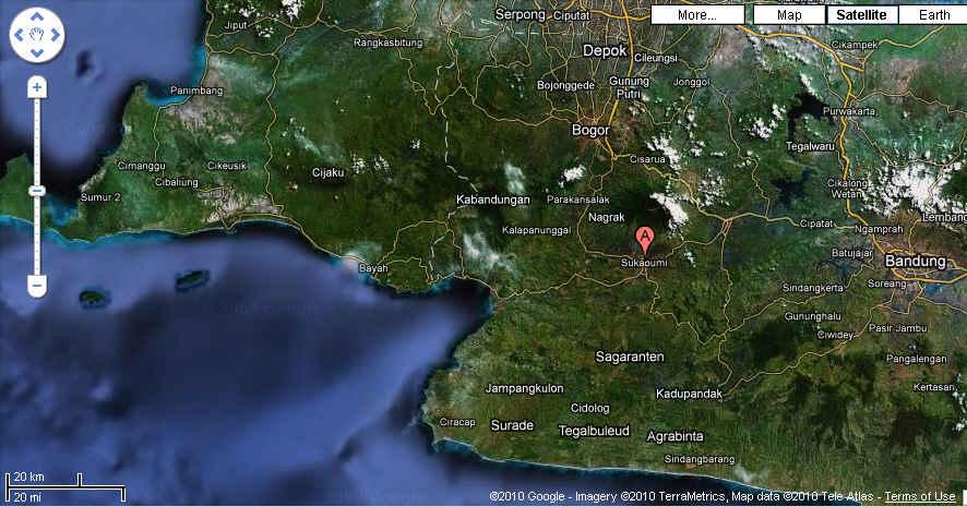 Sukabumi Map