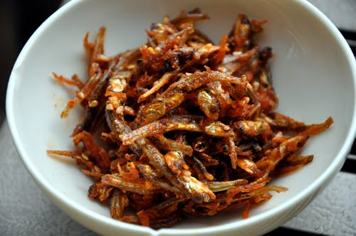 tsukurikata: korean style spicy stir fried anchovy