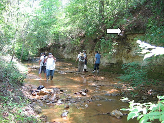 archaeological quarry site in Mississippi