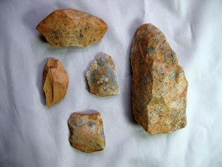 tallahatta quartzite artifacts from this site