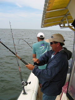 Saltwater fishing in the Gulf of Mexico