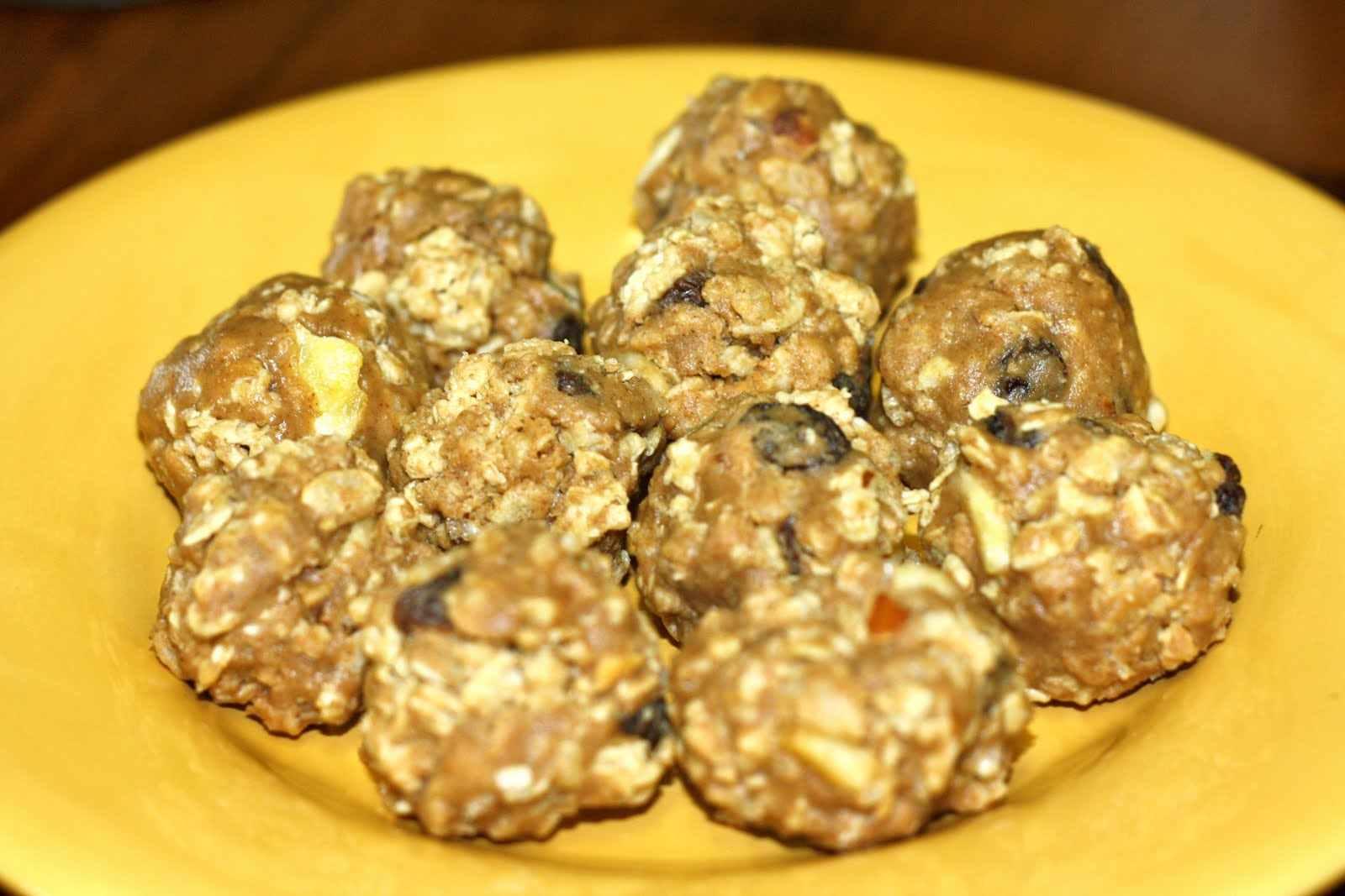 Absolutely Kathy: Chewy Granola Balls