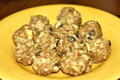 Chewy Granola Balls