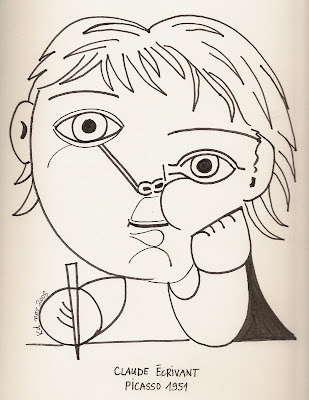 Karine 39 s art picasso dessins picasso drawings - Coloriage picasso ...