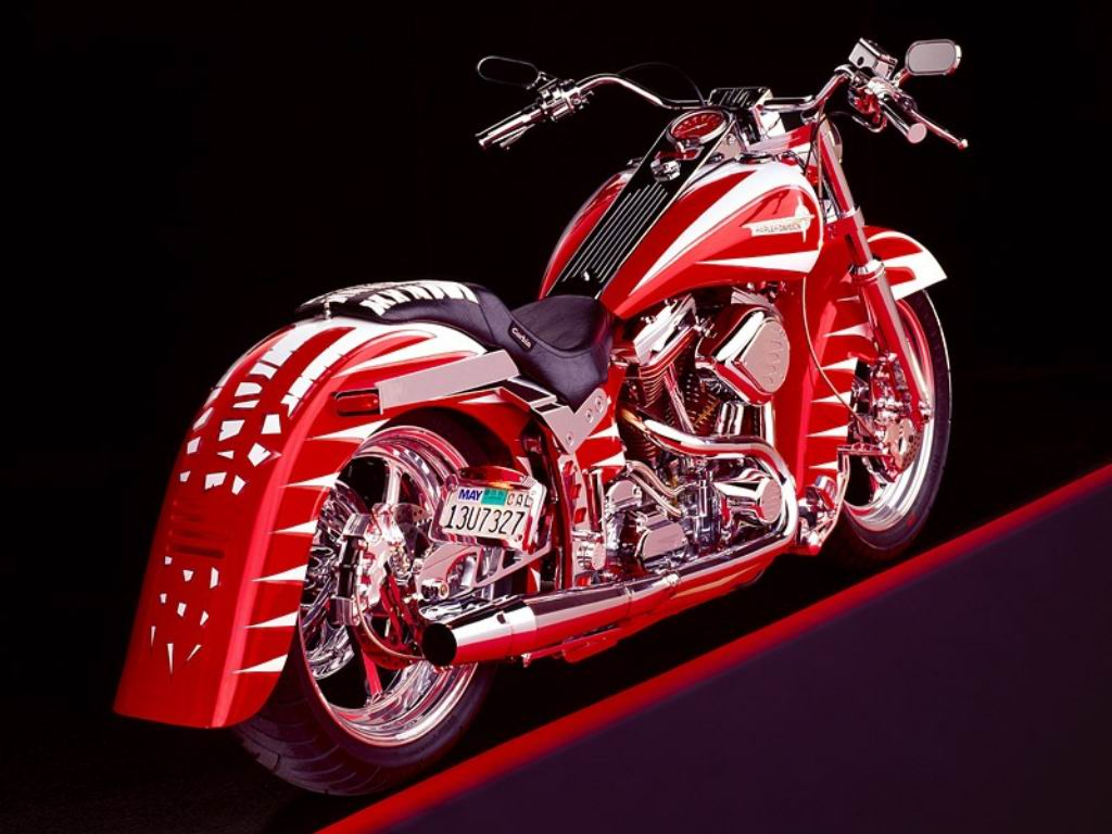 HARLEY MOTORCYCLE AND