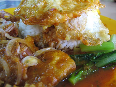 ... Vietnamese Style Fish with rice. Sometimes the fish can be crispy at