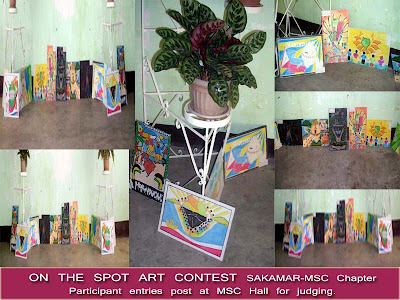 CMI & SAKAMAR-MSC Chapter On the Spot Art Contest (October 24, 2009)