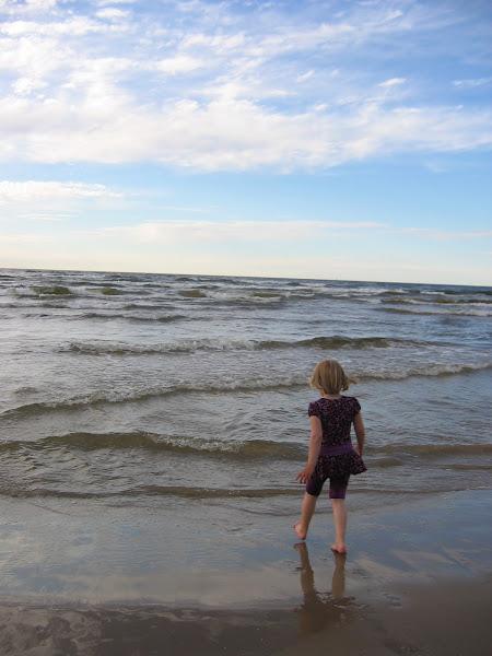 Piken ved stranden