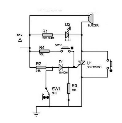 Ldr Description besides Page together with Dcgauss in addition Rf Based Wireless Remote Control System besides 7474 Pin Out Wiring Diagrams. on simple on off switch
