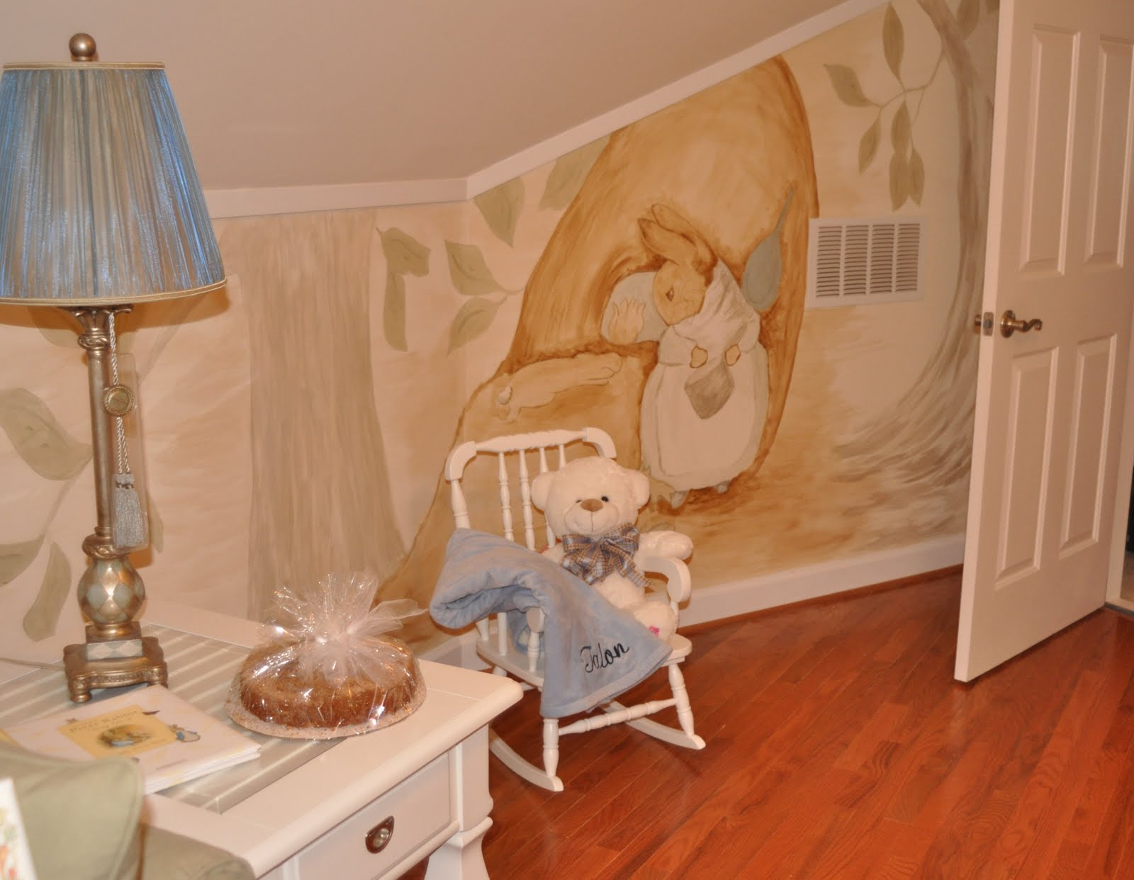 Peter Rabbit Mural, Playroom. Thank You For Visiting, Linda Part 98
