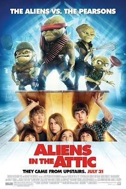 Attic Quái Vật Trên Gác Xếp - Aliens In The Attic (2009) Poster